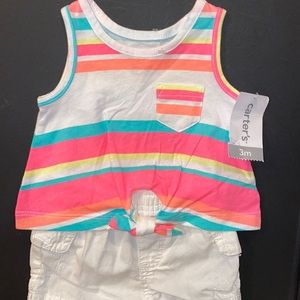 🛍Cute Little Girls outfit size 3 months